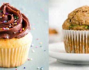 Những chiếc bánh muffin không chỉ xinh xắn mà còn rất ngon miệng