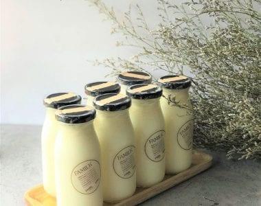 Skim milk là tươi không đường tách béo được sản xuất bởi thương hiệu Familk